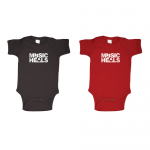 Onesie (12 month) - Red on Black or White on Red